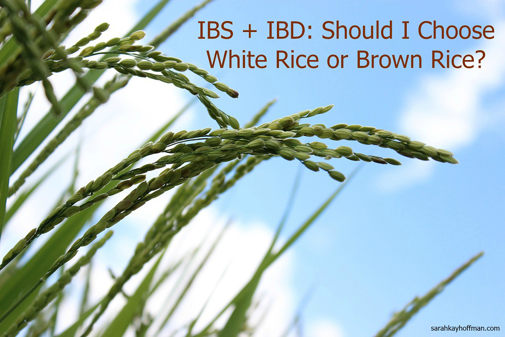 White Rice vs. Brown Rice IBS IBD sarahkayhoffman.com