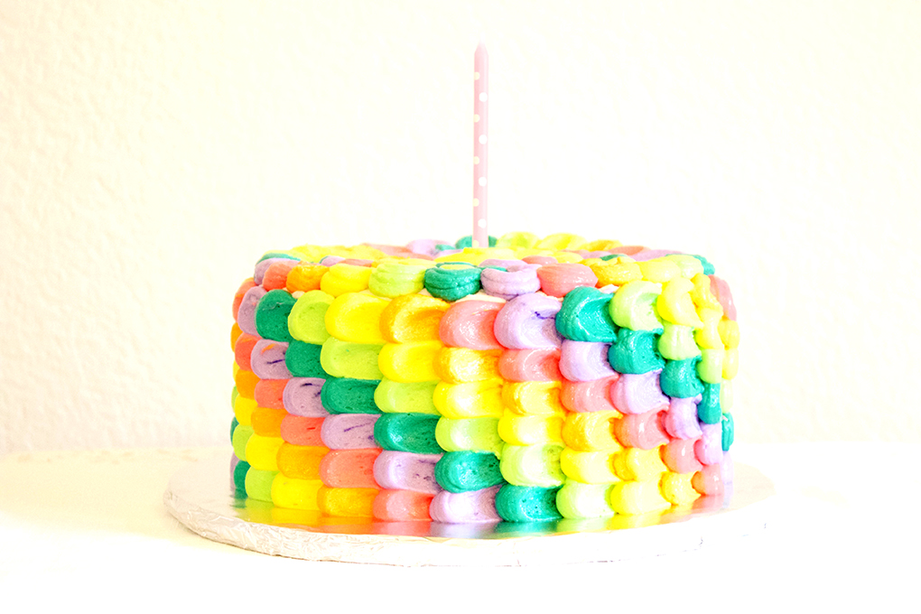Bubbles, Balloons and Bright Things Cake toddler birthday sarahkayhoffman.com