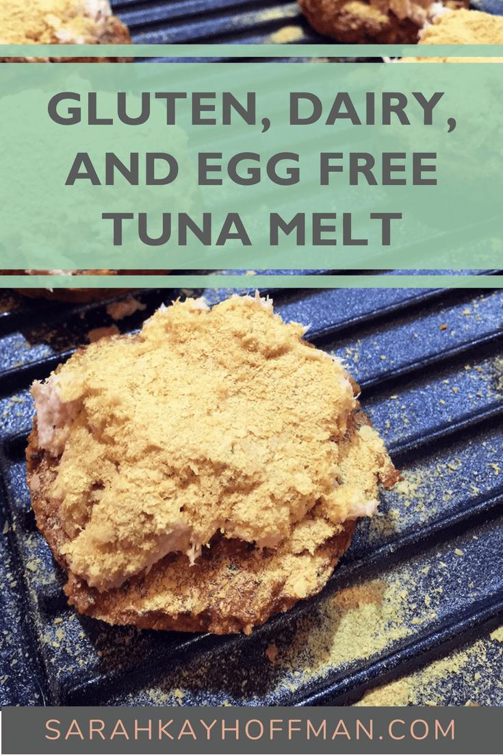 Gluten, Dairy, and Egg Free Tuna Melt www.sarahkayhoffman.com #glutenfree #dairyfree #healthyliving #eggfree