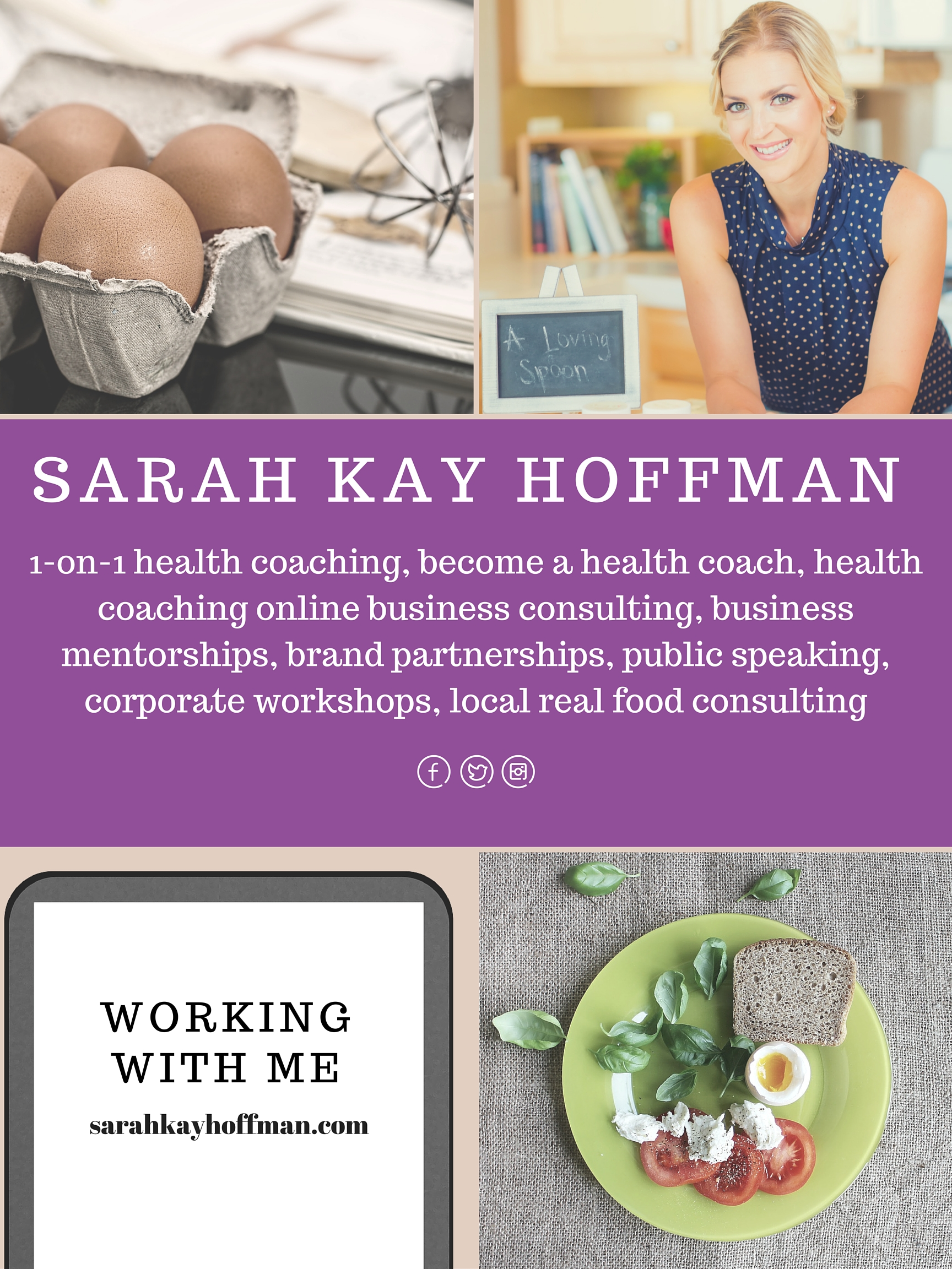 How to Work with Sarah Kay Hoffman sarahkayhoffman.com