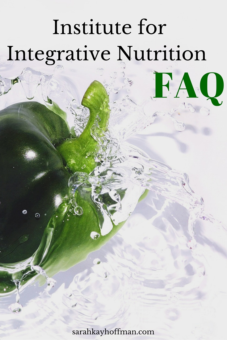 Institute for Integrative Nutrition FAQ sarahkayhoffman.com