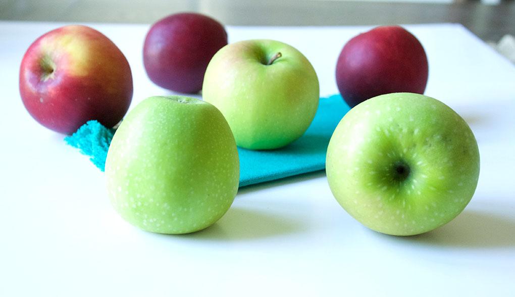 Mini Layered Apple Pie Apples sarahkayhoffman.com