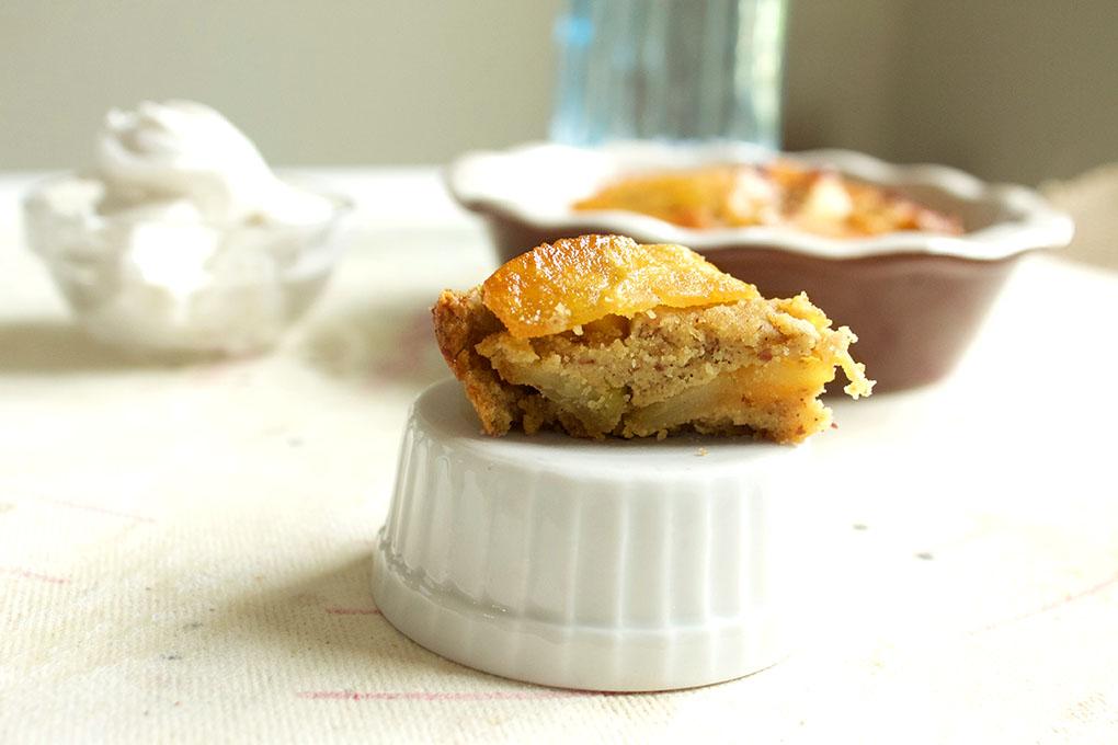 Mini Layered Apple Pie Mini Paleo close sarahkayhoffman.com