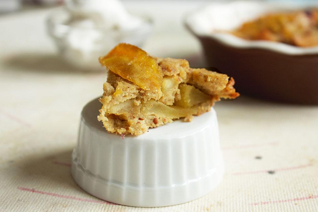 Mini Layered Apple Pie Mini Paleo sarahkayhoffman.com