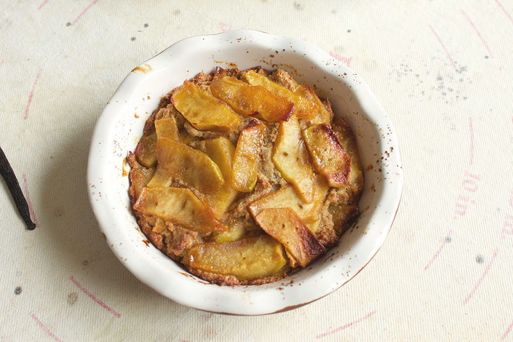 Paleo Mini Layered Apple Pie perfect for the fall and holiday season ...