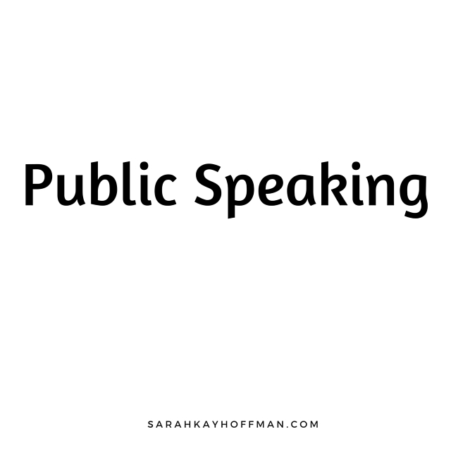 Public Speaking IIN How to work with Sarah Kay Hoffman sarahkayhoffman.com i Brand Y