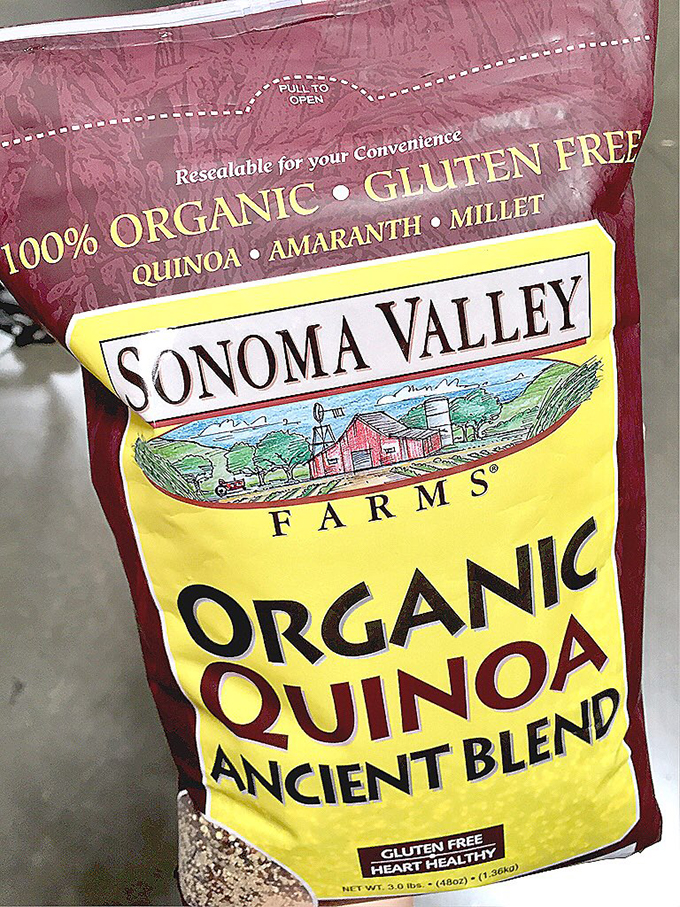 The Real Food Shopping Guide for Costco Organic Quinoa Blend sarahkayhoffman.com