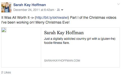 Christmas Eve Past, Present and Future_2011 sarahkayhoffman.com