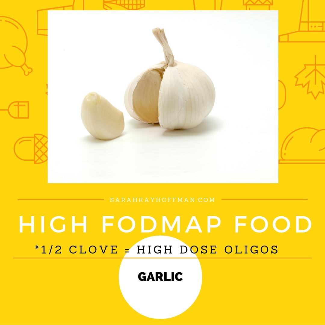 FODMAPs Garlic with Sarah Kay Hoffman sarahkayhoffman.com