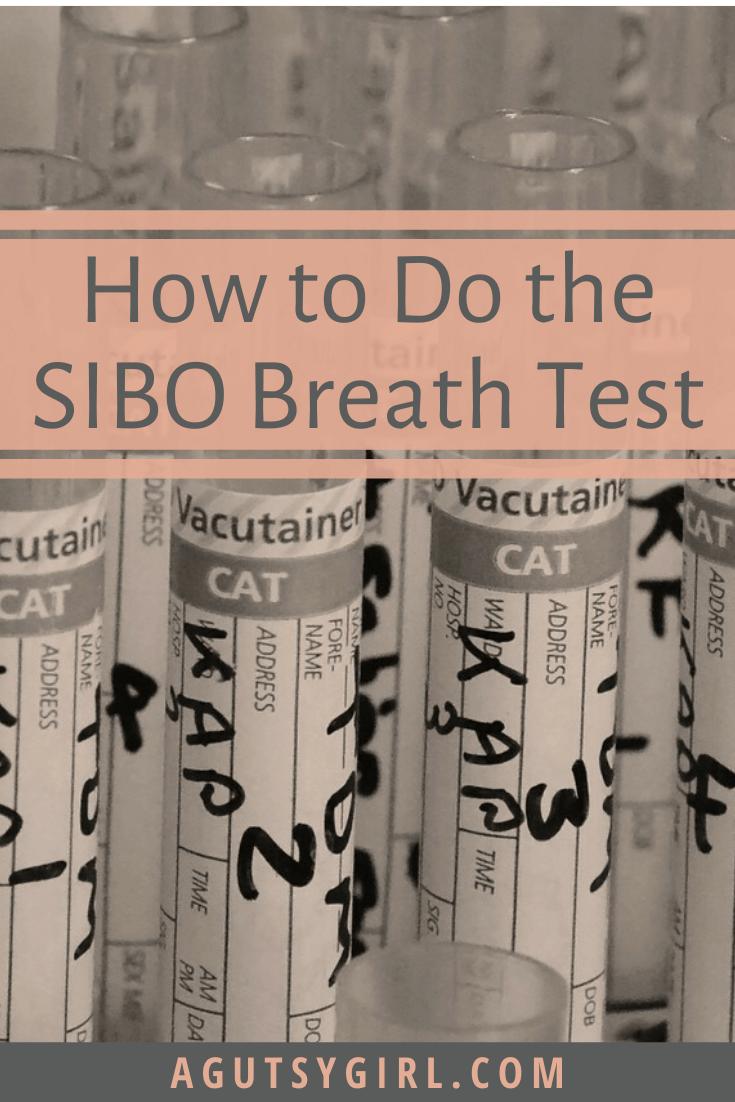 How to Do the SIBO Breath Test agutsygirl.com #guthealth #sibo #gut