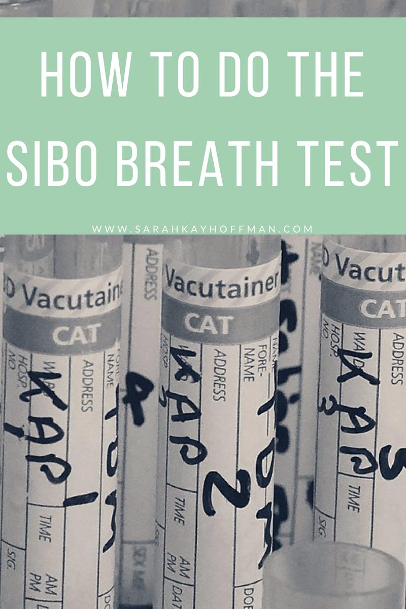 How to Do the SIBO Breath Test www.sarahkayhoffman.com