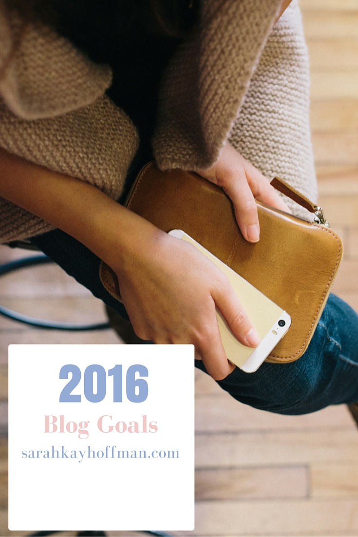 Pass It On 2016 Blog Goals Content Editorial Calendar sarahkayhoffman.com