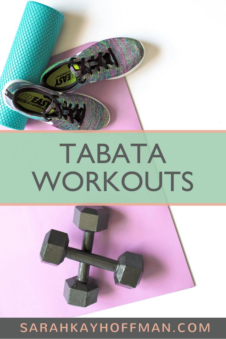 Tabata Workouts www.sarahkayhoffman.com