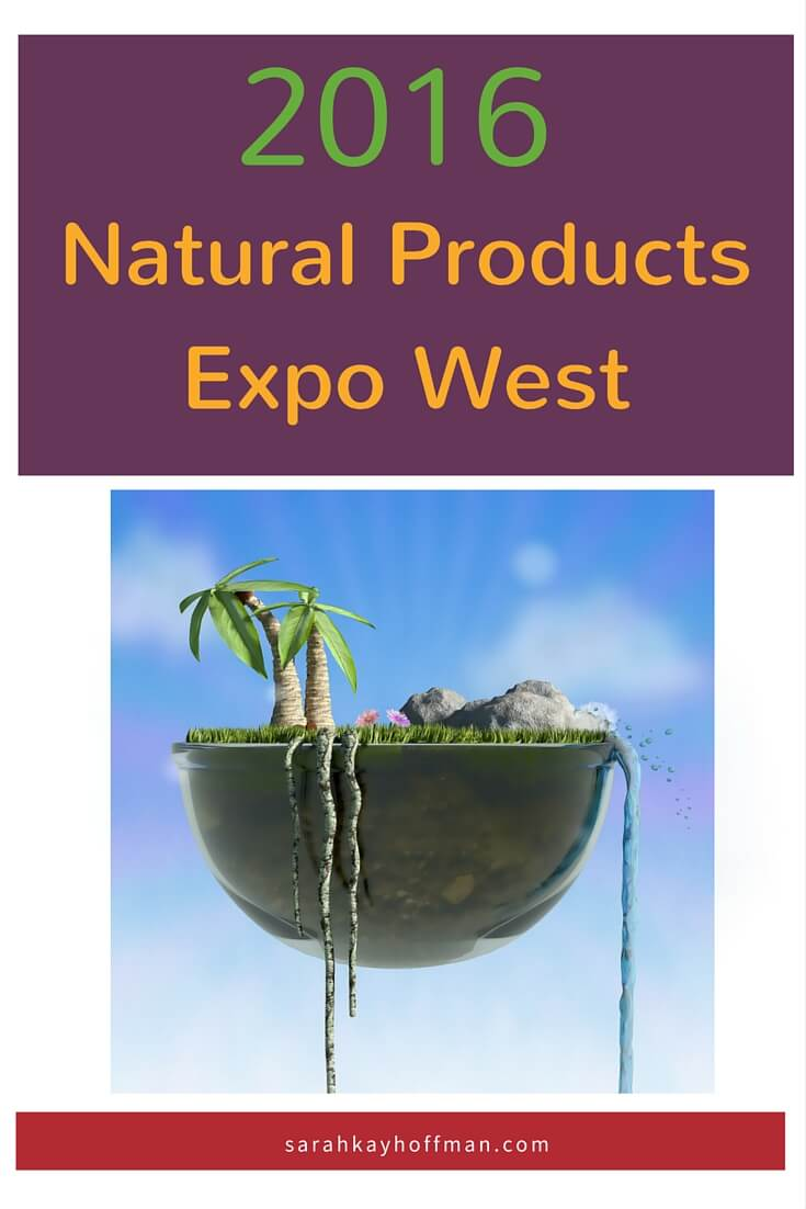 2016 Natural Products Expo West sarahkayhoffman.com