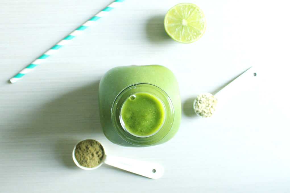 3 Healthy Smoothie Recipes Hemp and Pear-licious Perfection Smoothie sarahkayhoffman.com