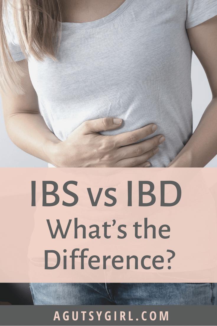 IBS vs IBD agutsygirl.com #ibs #ibd #digest #guthealth