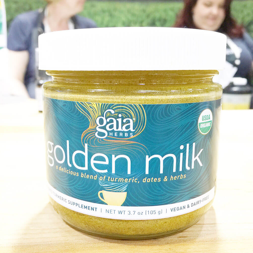 2016 Natural Products Expo West Favorite Brands and Products Gaia Golden Milk