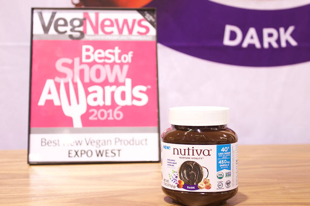 2016 Natural Products Expo West Favorite Brands and Products Nutiva Chocolate Spread Vegan sarahkayhoffman.com
