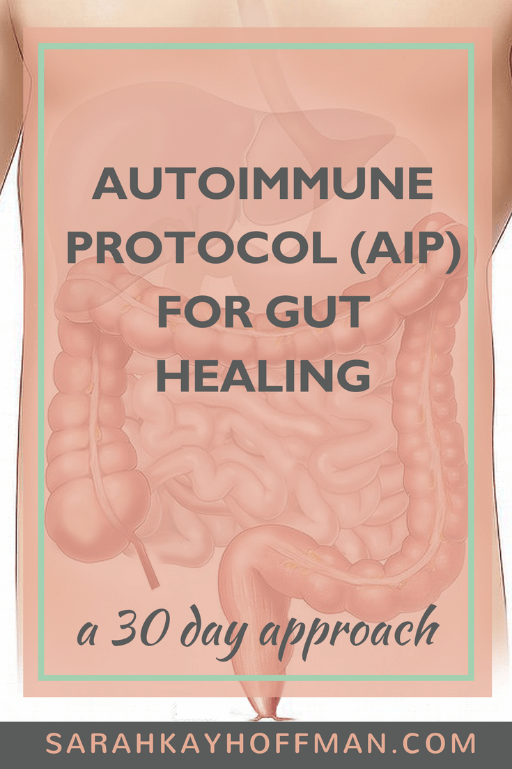 30 Days AIP www.sarahkayhoffman.com What is the AIP Diet? #autoimmune #paleo #guthealing
