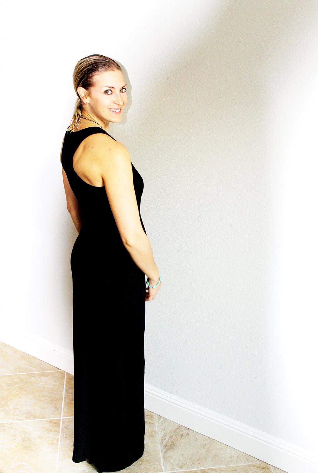 Fashion Friday with PACT Apparel Organic Maxi Dress sarahkayhoffman.com