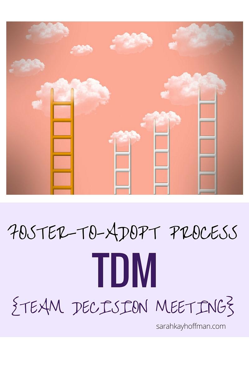 TDM Team Decision Meeting Foster-to-Adopt sarahkayhoffman.com