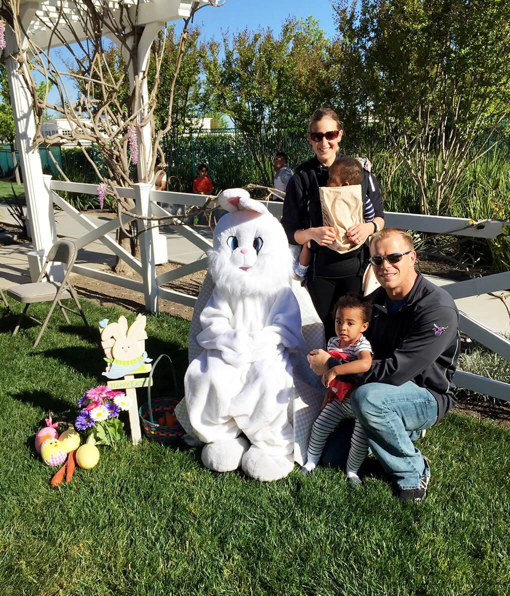 A Normal Family sarahkayhoffman.com Easter Sarah, Samarah, Isaiah, Ryan