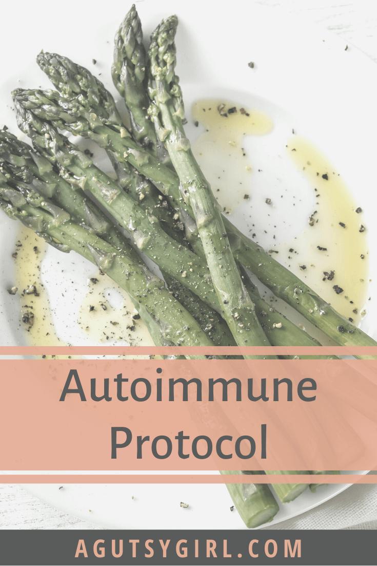 Autoimmune Protocol agutsygirl.com #AIP #autoimmune #foodlist