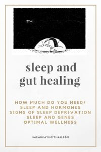 Sleep and Gut Healing
