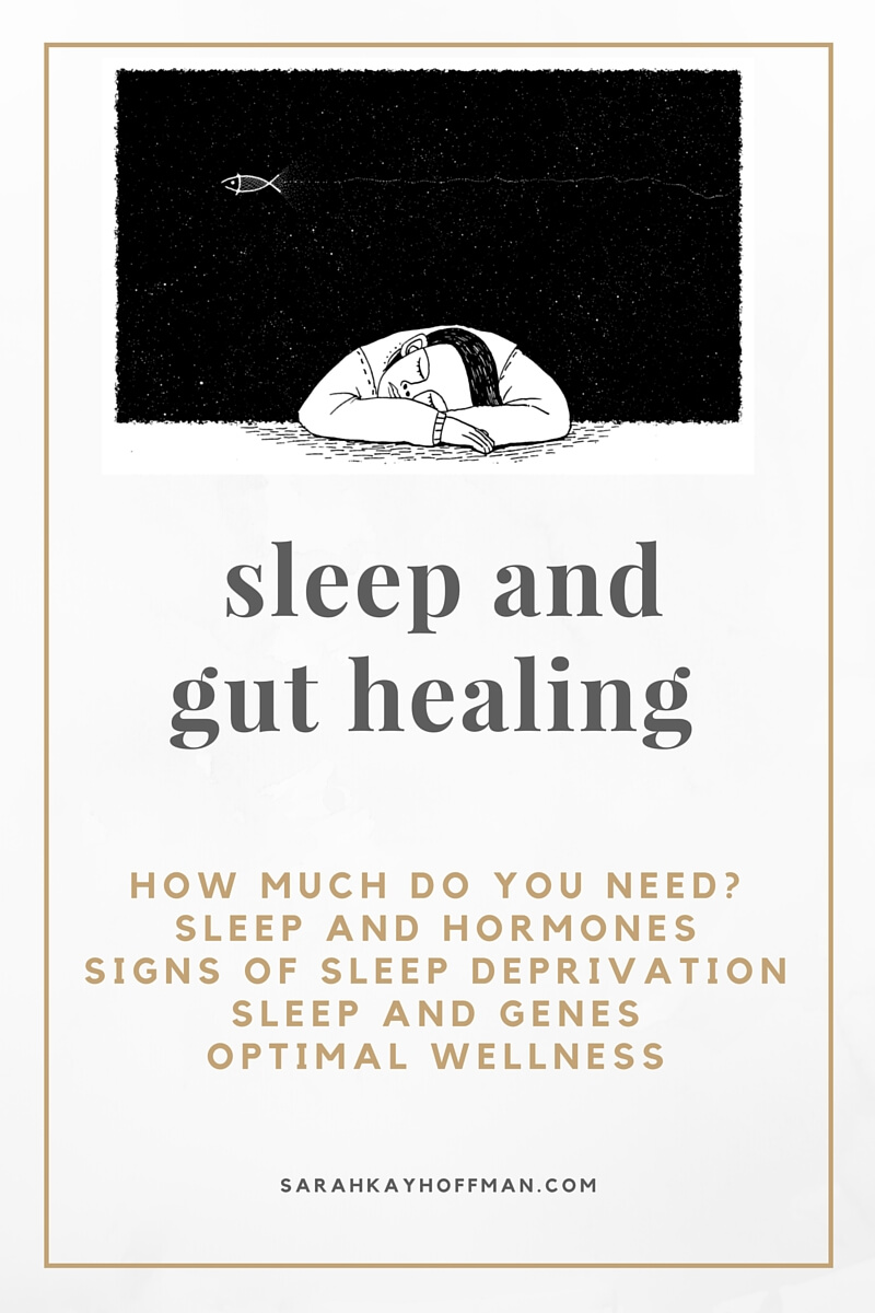 Food is not always the enemy Sleep and Gut Healing sarahkayhoffman.com