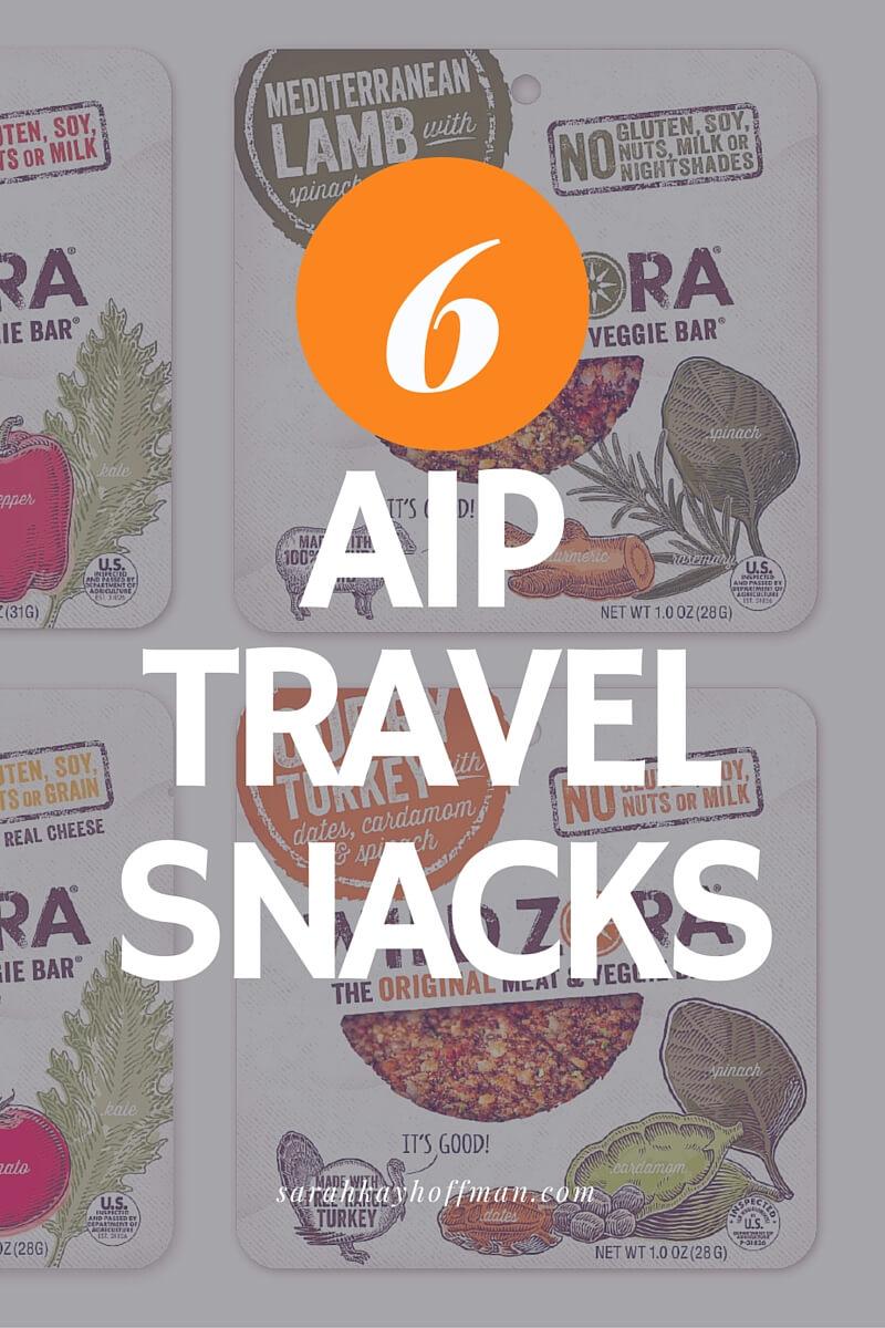6 AIP Travel Snacks Autoimmune Protocol sarahkayhoffman.com