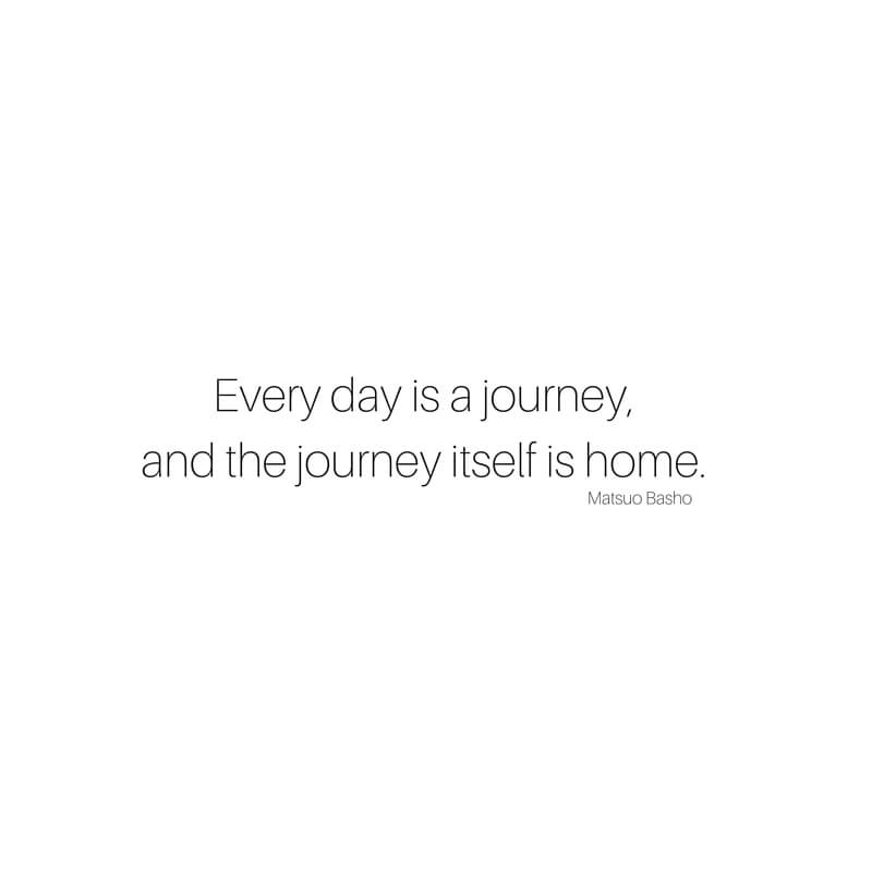 Sharing My Journey 9 Beautiful Travel Quotes sarahkayhoffman.com Journey