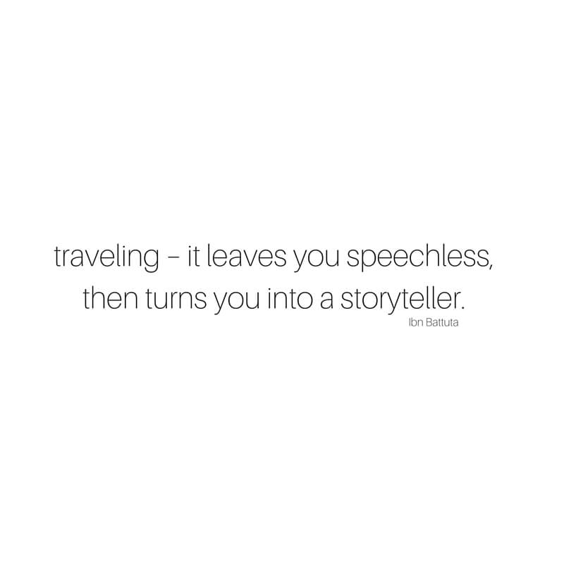 9 Beautiful Travel Quotes sarahkayhoffman.com Traveling