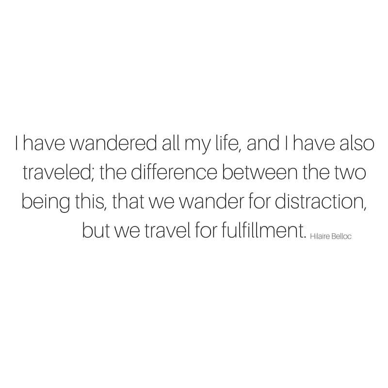 9 Beautiful Travel Quotes sarahkayhoffman.com Wander