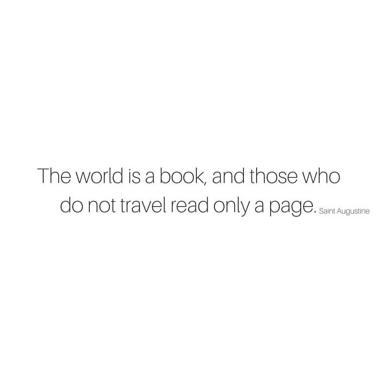 9 Beautiful Travel Quotes sarahkayhoffman.com World Book