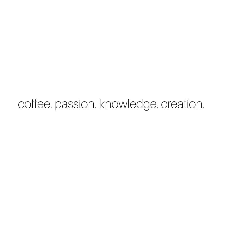 Over when it's Over. coffee. passion. knowledge. creation sarahkayhoffman.com