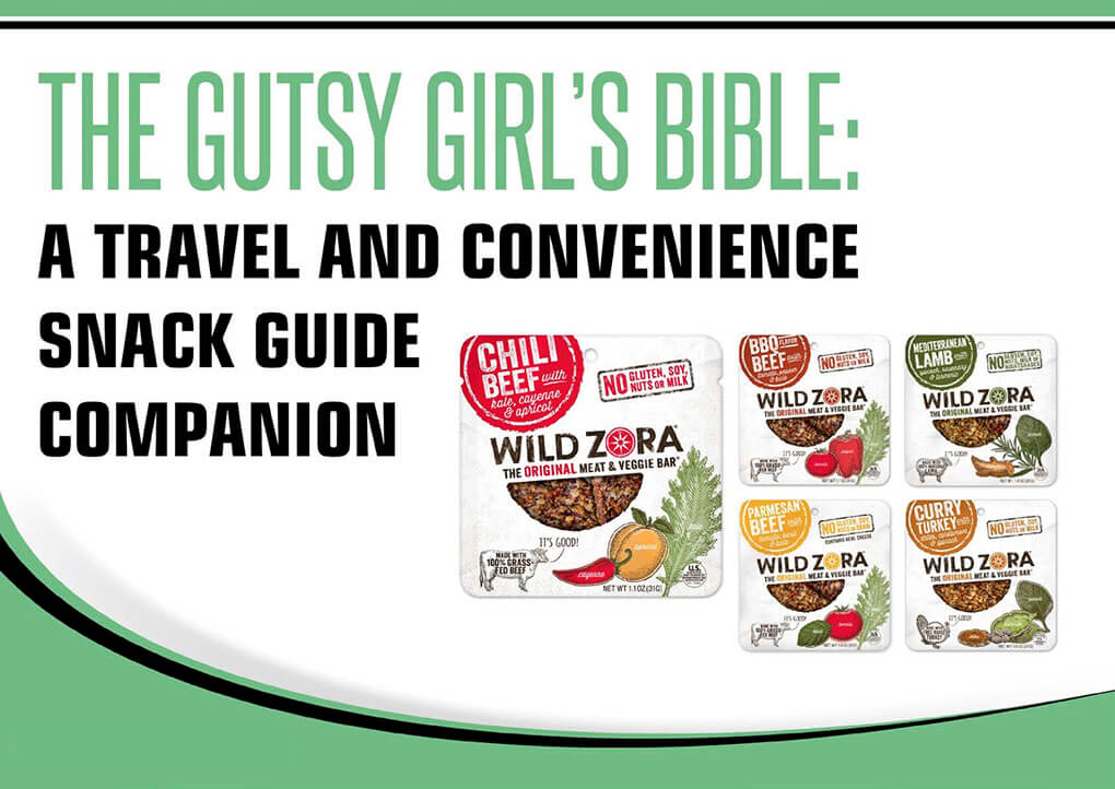 Travel and Convenience Snack Guide via The Gutsy Girl's Bible a travel and convenience snack guide sarahkayhoffman.com