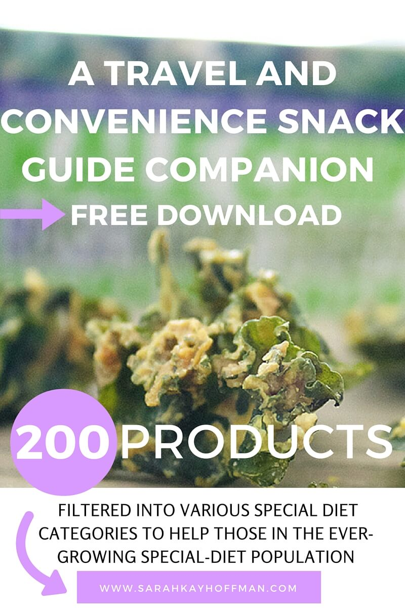 Travel and Convenience Snack Guide Companion sarahkayhoffman.com
