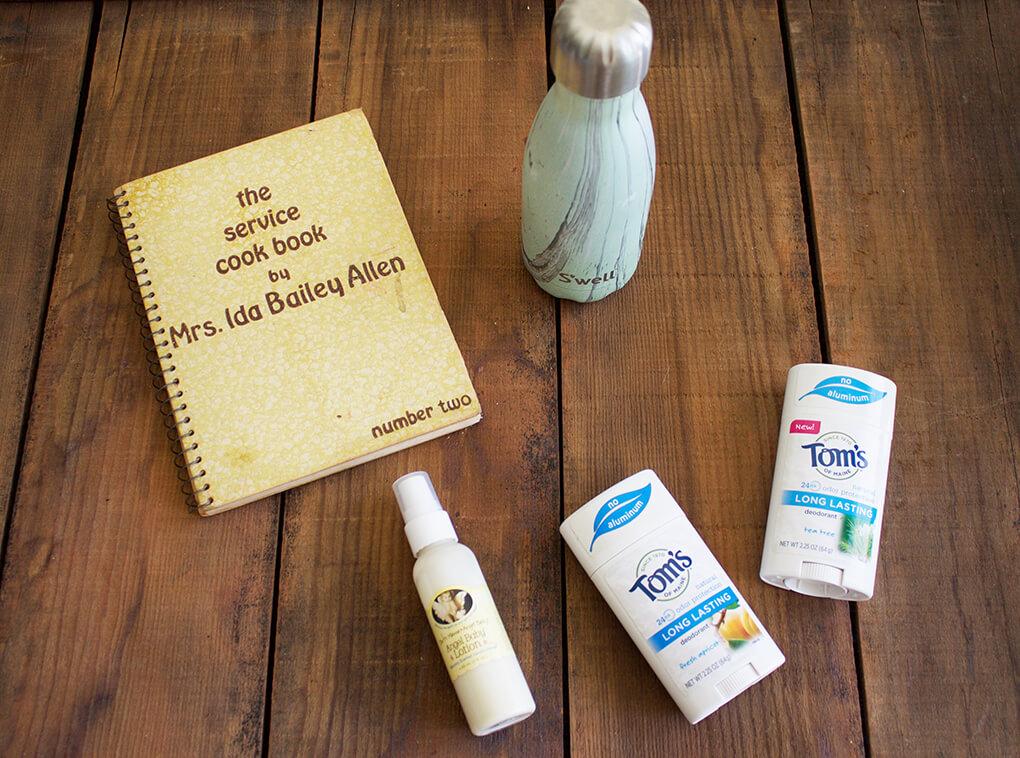 9 Things in My Summer Travel Bag sarahkayhoffman.com Vintage Book
