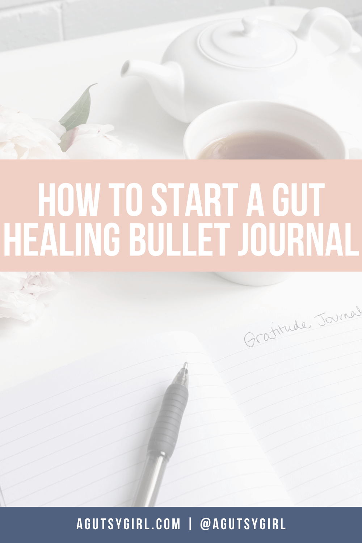 Gut Healing Bullet Journal agutsygirl.com #guthealth #bujo #bulletjournal #gut