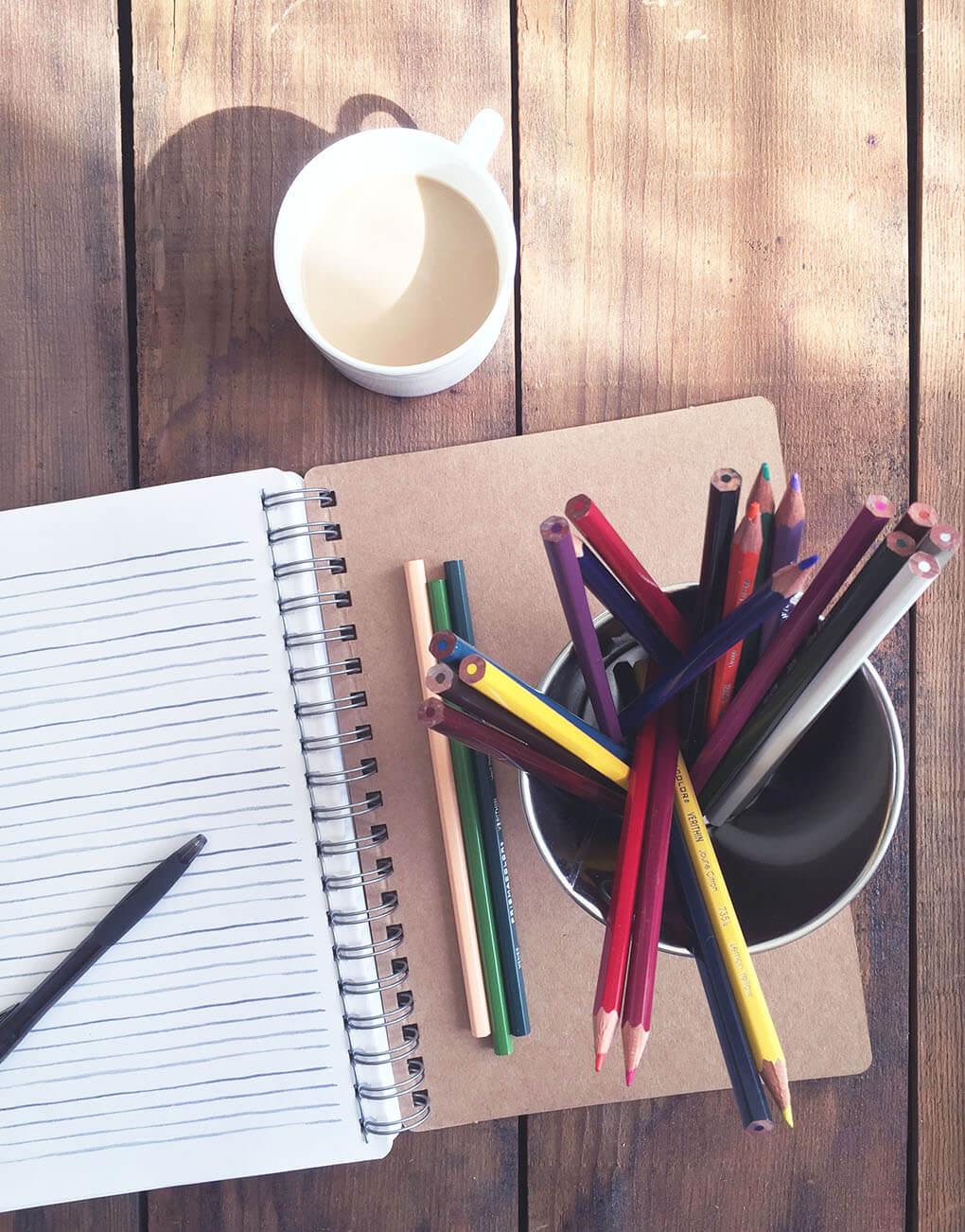How to Create a Gut Healing Bullet Journal via sarahkayhoffman.com Creativity