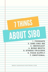 7 Things About SIBO