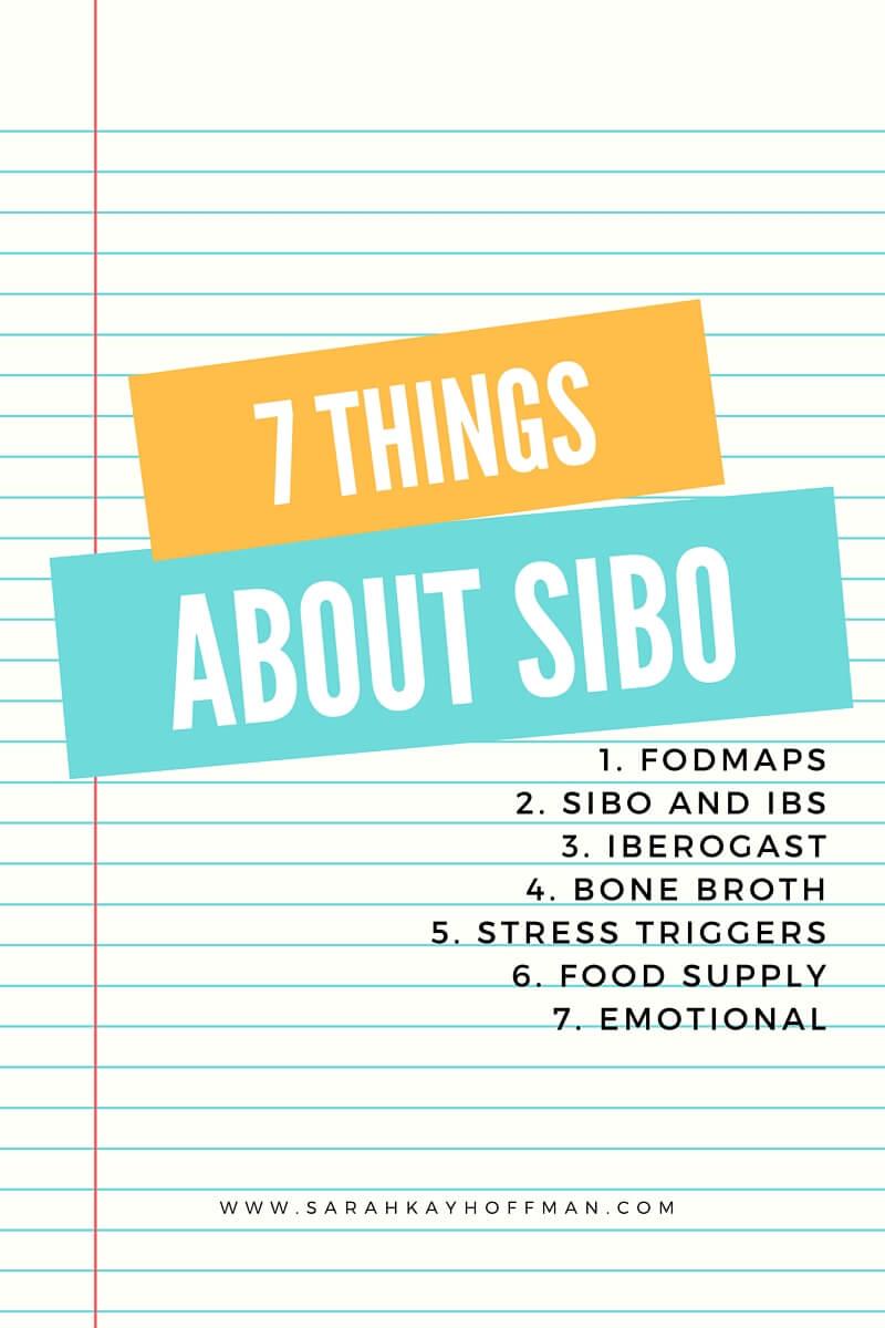 7 Things About SIBO sarahkayhoffman.com