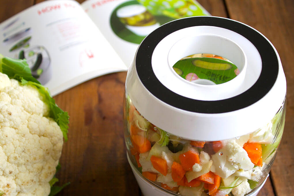 How to Easily Ferment Your Own Vegetables sarahkayhoffman.com Carrot Veggie Fermenting