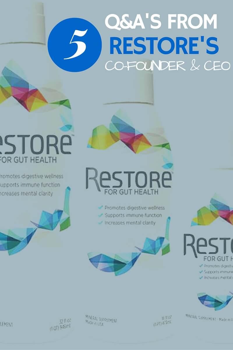 Restore sarahkayhoffman.com Gut Health #restore #ibs #guthealth #healthyliving #supplements