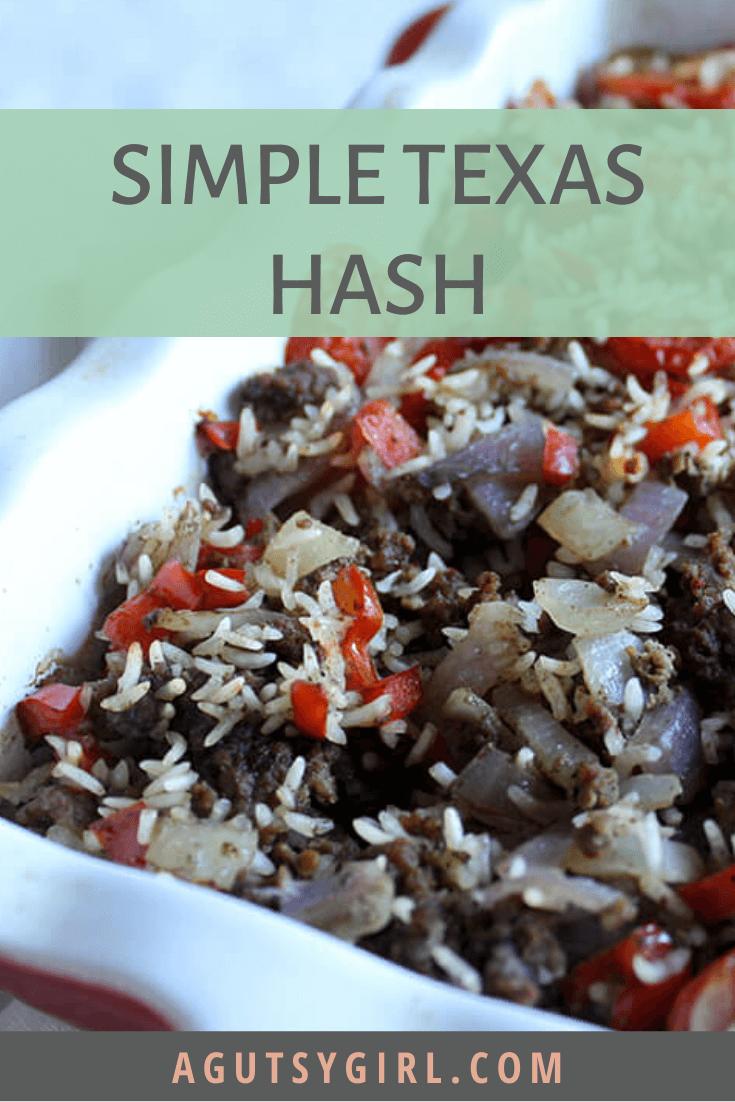 Simple Texas Hash agutsygirl.com #glutenfree #healthymeals