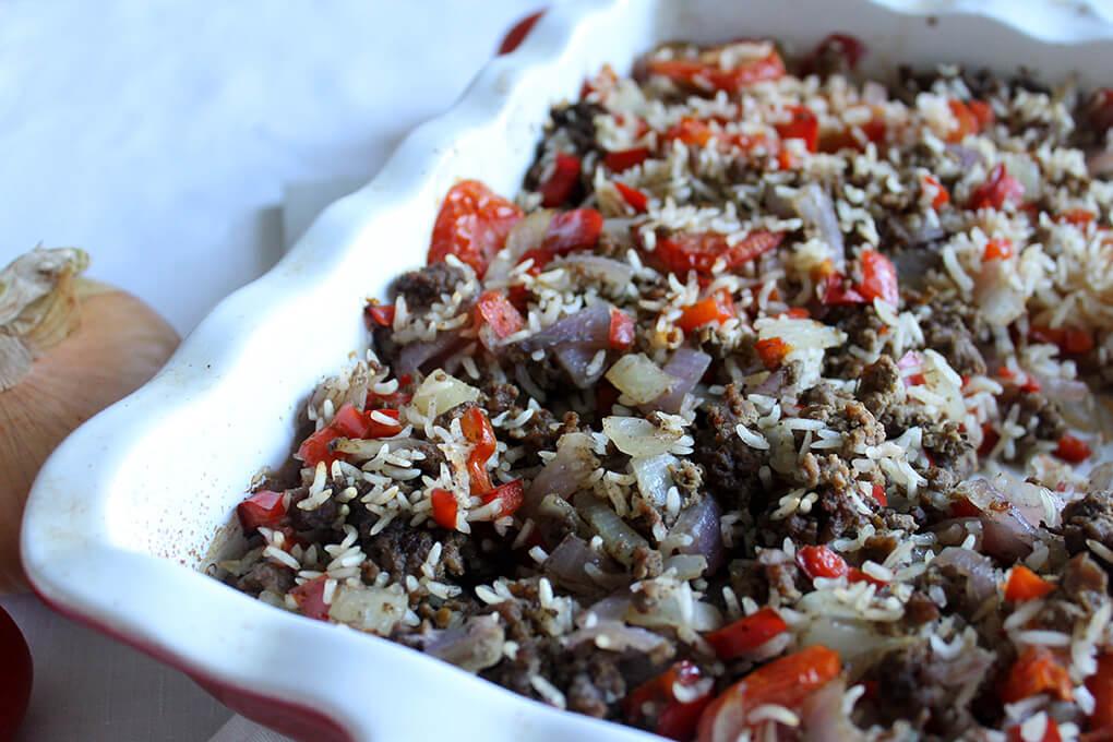 Simple Texas Hash sarahkayhoffman.com Main Meal Gluten Free