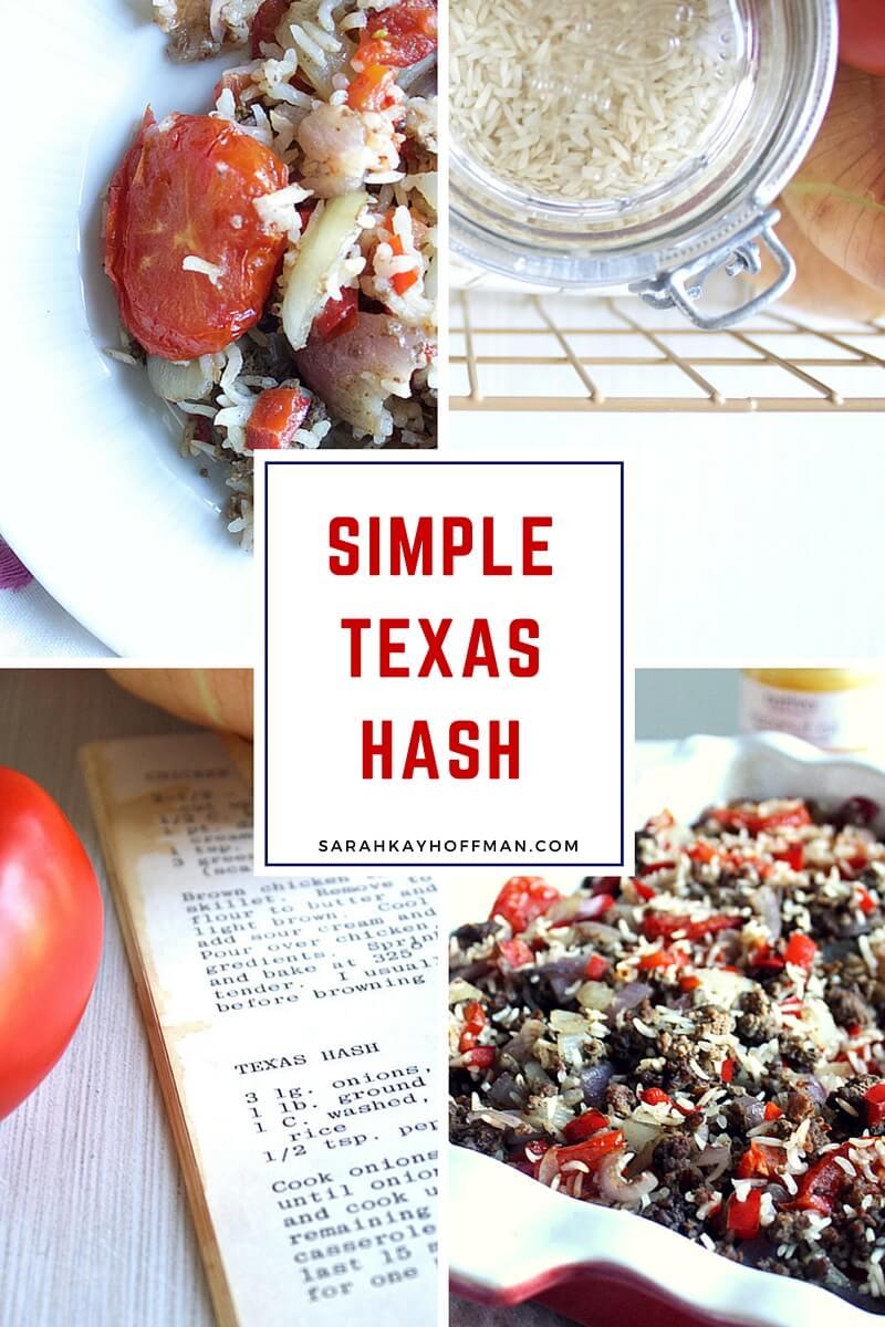 Simple Texas Hash sarahkayhoffman.com