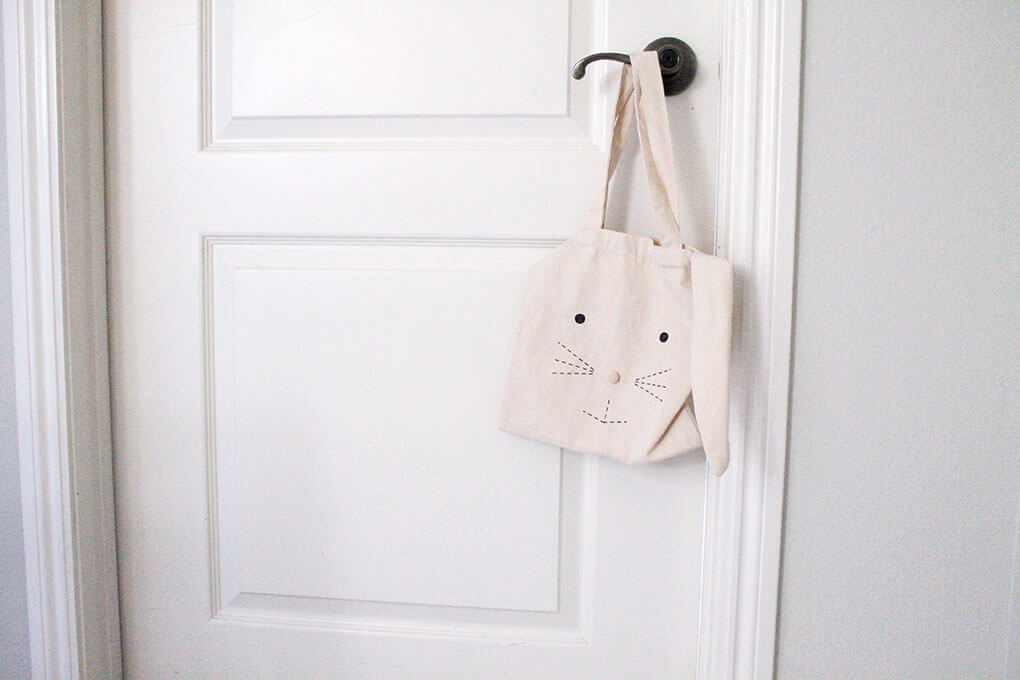 A Simple Toddler Room sarahkayhoffman.com Bunny Bag