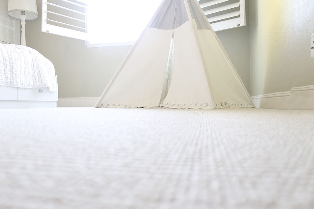 A Simple Toddler Room sarahkayhoffman.com Land of Nod TeePee