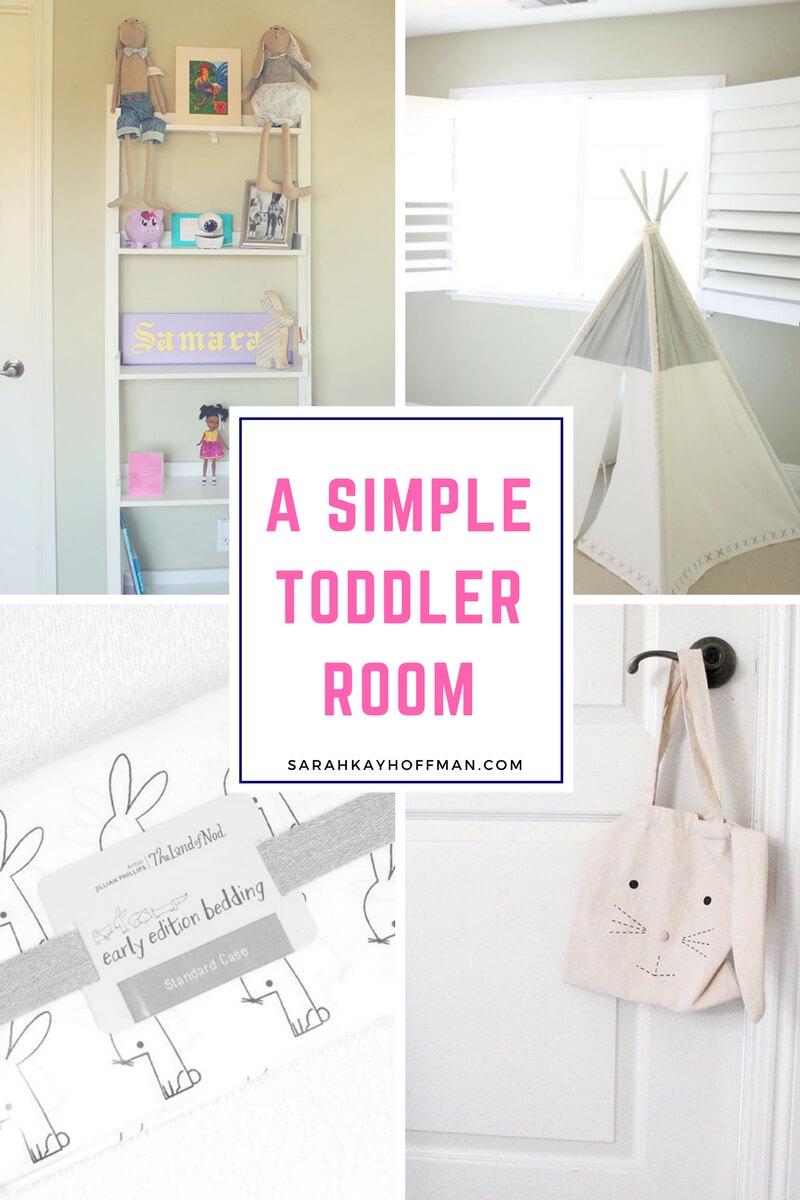 A Simple Toddler Room sarahkayhoffman.com